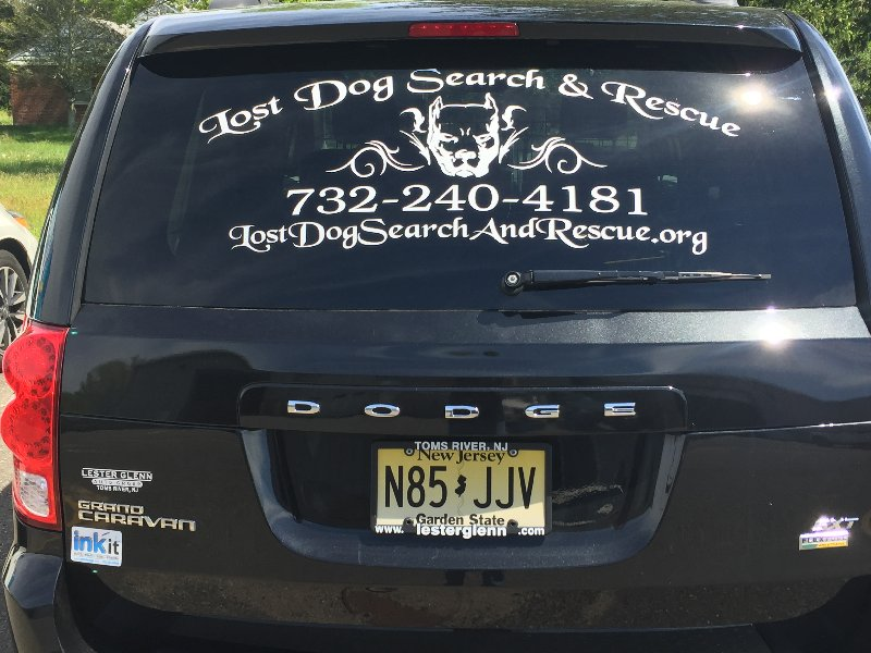 I Lost My Dog, Lost Pet Recovery Ocean County